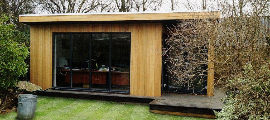 ... garden office: exterior ... YYGWRZV