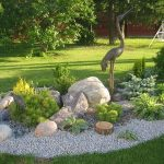 An overview about the rock garden