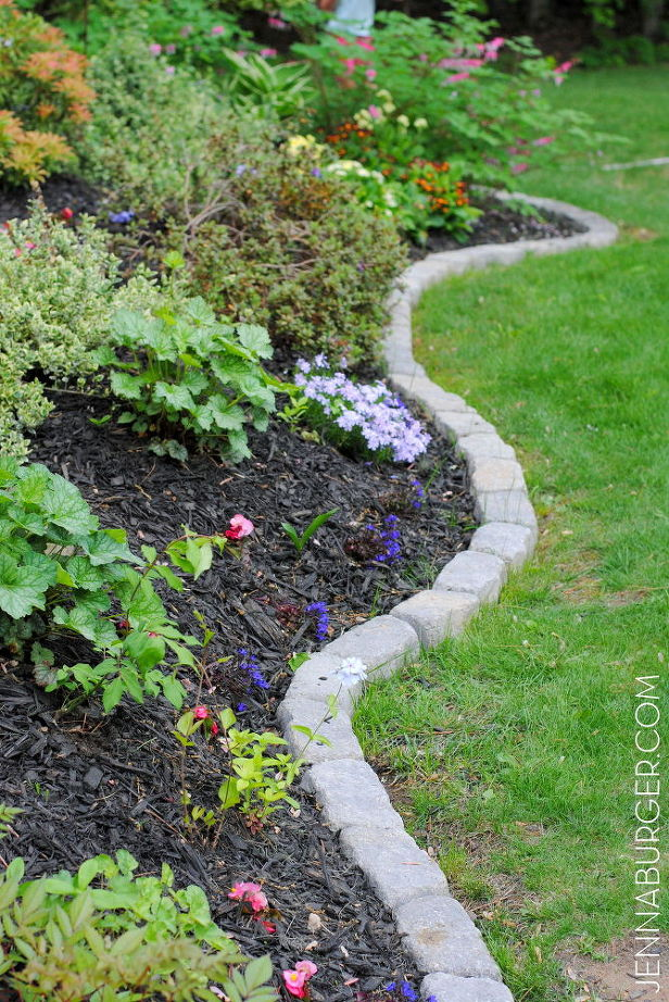 Pros of garden edging