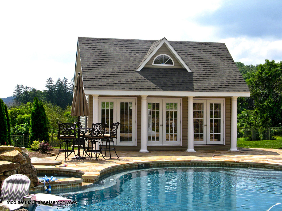 17 x 20 heritage liberty pool house (vinyl siding) AXAIUHT