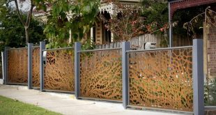 22 awesome fence designs and ideas HGRYTDF