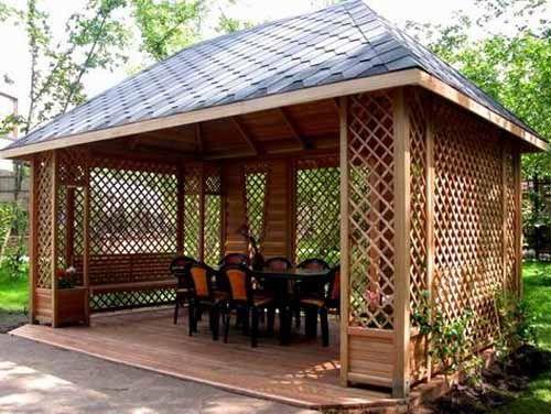 22 beautiful metal gazebo and wooden gazebo designs DSKAAPD