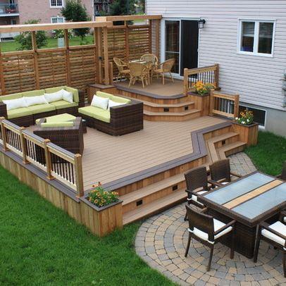 25+ best ideas about deck design on pinterest | backyard deck designs,  patio deck UXRKMRD