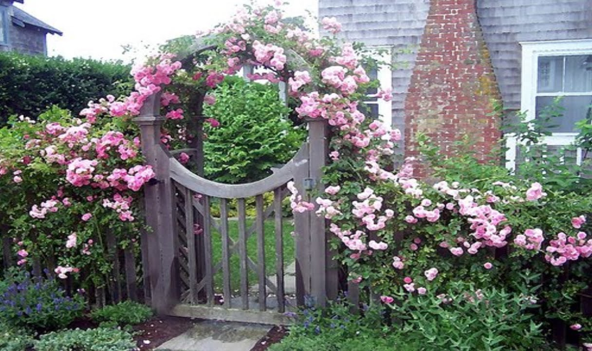 25 most beautiful and unique garden gates - youtube IVSQIKT