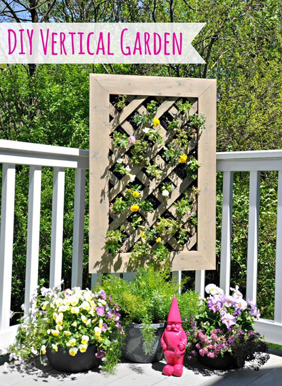 26 creative ways to plant a vertical garden - how to make a vertical garden VWQENPP