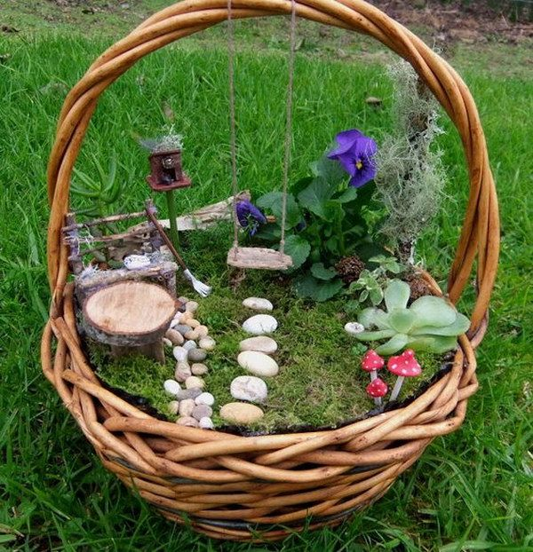 Garden Craft Ideas For Kids Part - 43: 35 Awesome Diy Fairy Garden Ideas And Tutorials XKMHNJR