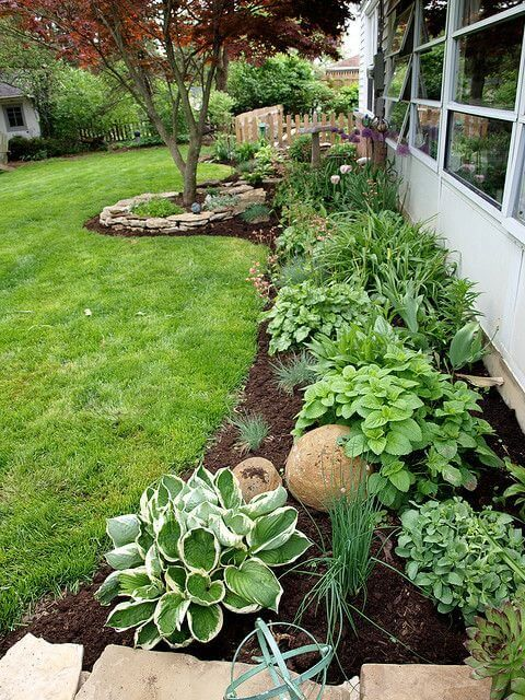 55 backyard landscaping ideas youu0027ll fall in love with VFOGPNV