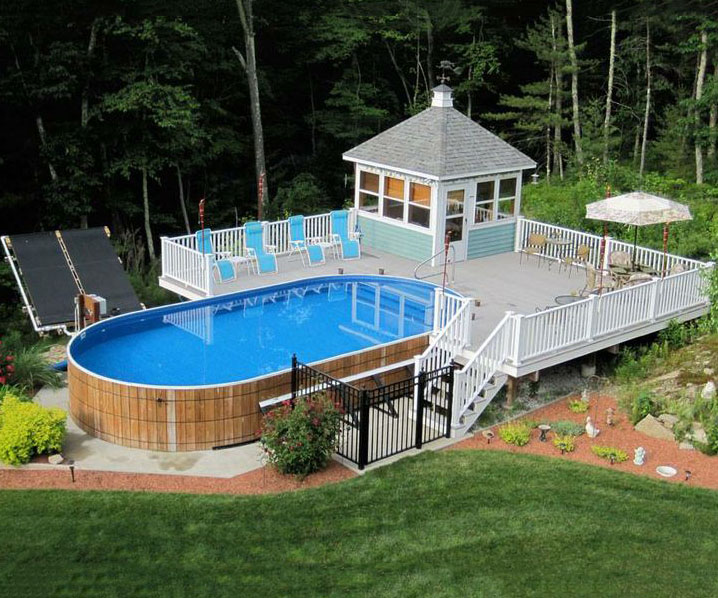 above ground pool deck ideas igqqrpa - Above Ground Pool Deck