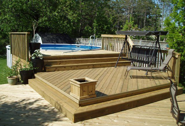above ground pool deck plans above ground pool decks | 27 ft round pool deck plan, free deck plans, deck FWYEKCC