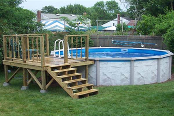 above ground pool deck plans deck plans for above ground pools low prices AYDXUMA