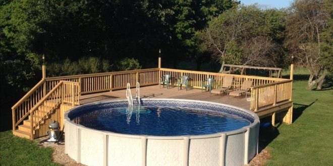 The importance of above ground pool decks for Patio decks for sale