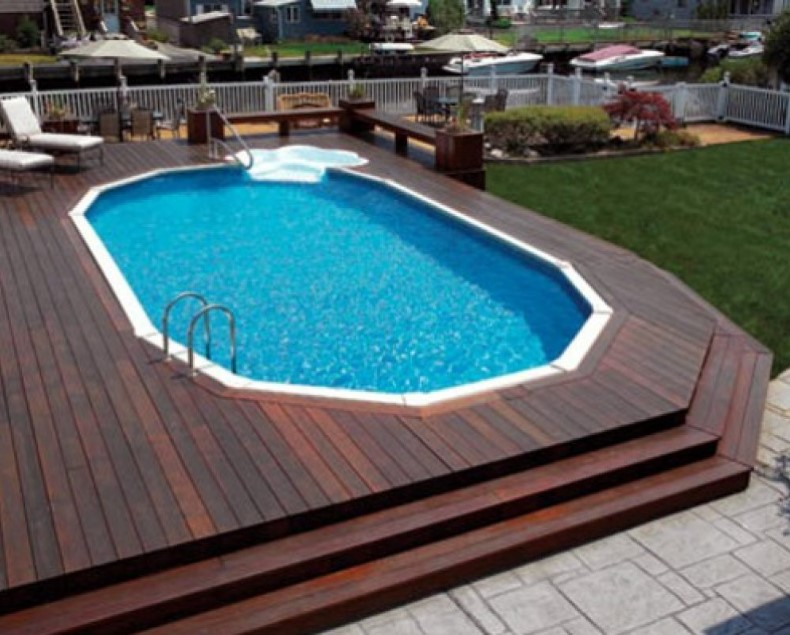 How to come up with above ground pool with decks yonohomedesigncom
