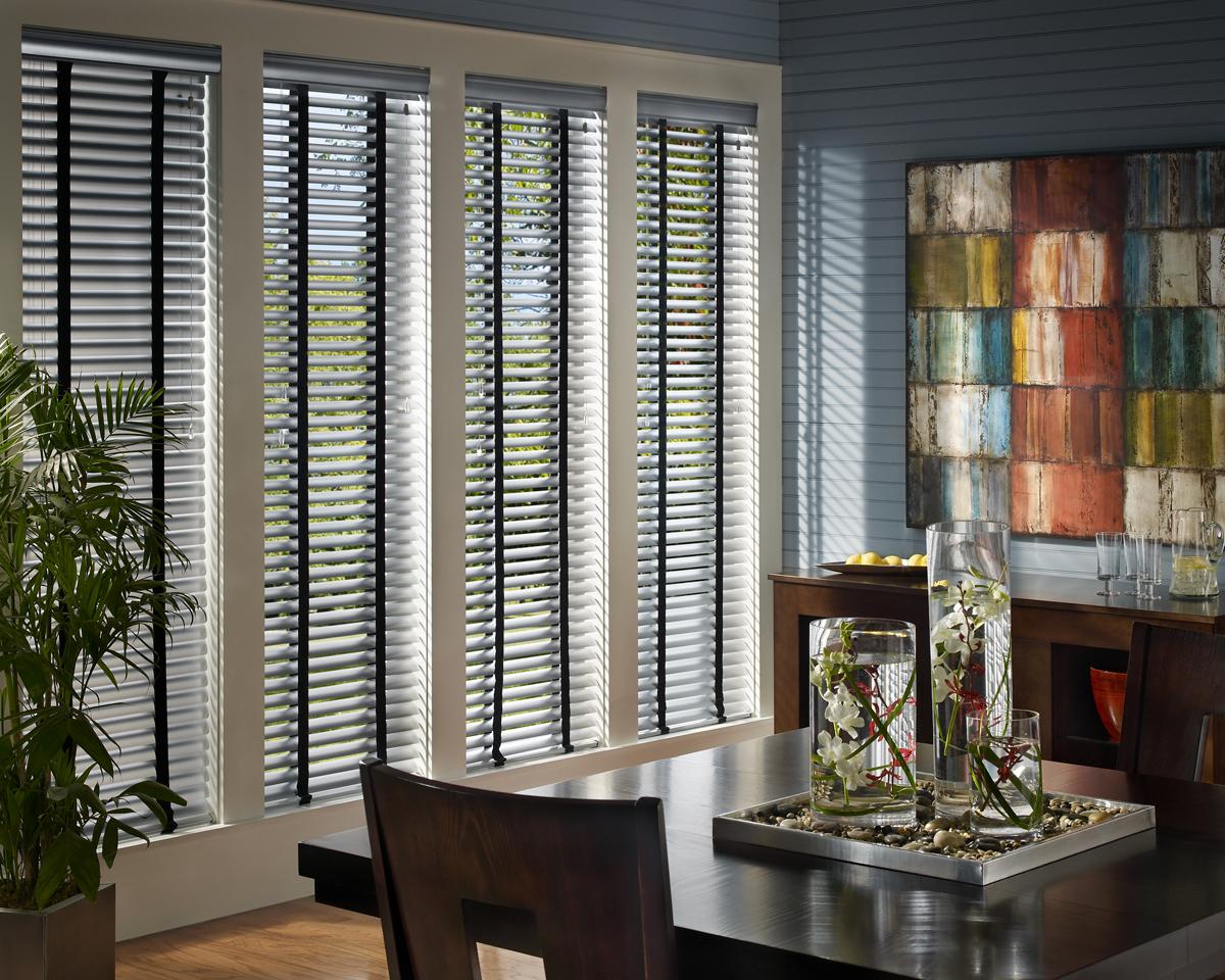 aluminum blinds macro_cordlock_diningroom SZKWOUT