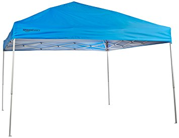 amazonbasics pop-up canopy tent - 10 x 10 ft JBLEMIX