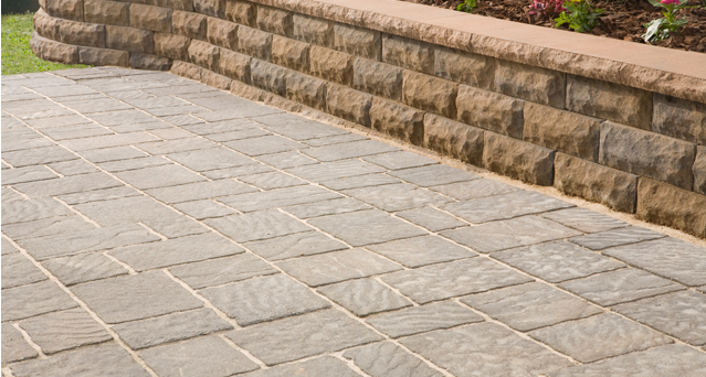 anchor block products | four cobble™ stone | patio stones XEQEWTY