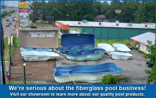 aqua group fiberglass pools showroom WZGTWOU