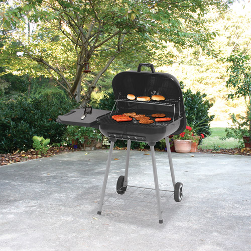 backyard grill deluxe square charcoal grill VOHBKZC