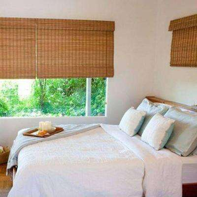 bamboo blinds budget woven wood shade HBNDAOP