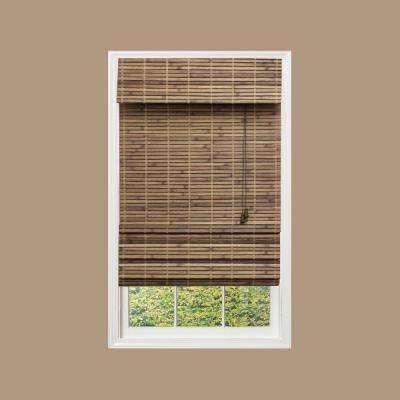 bamboo blinds cut to width driftwood flatweave bamboo roman shade MLSLIFK