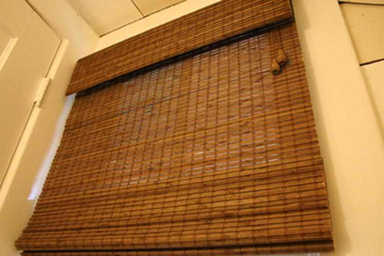 bamboo blinds for your windows! HNVBENA