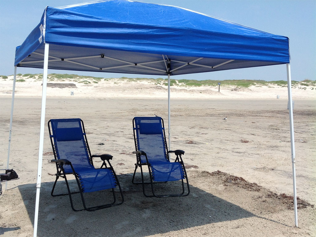 beach canopy canopy, cooler, and beach chairs AYZVOTK