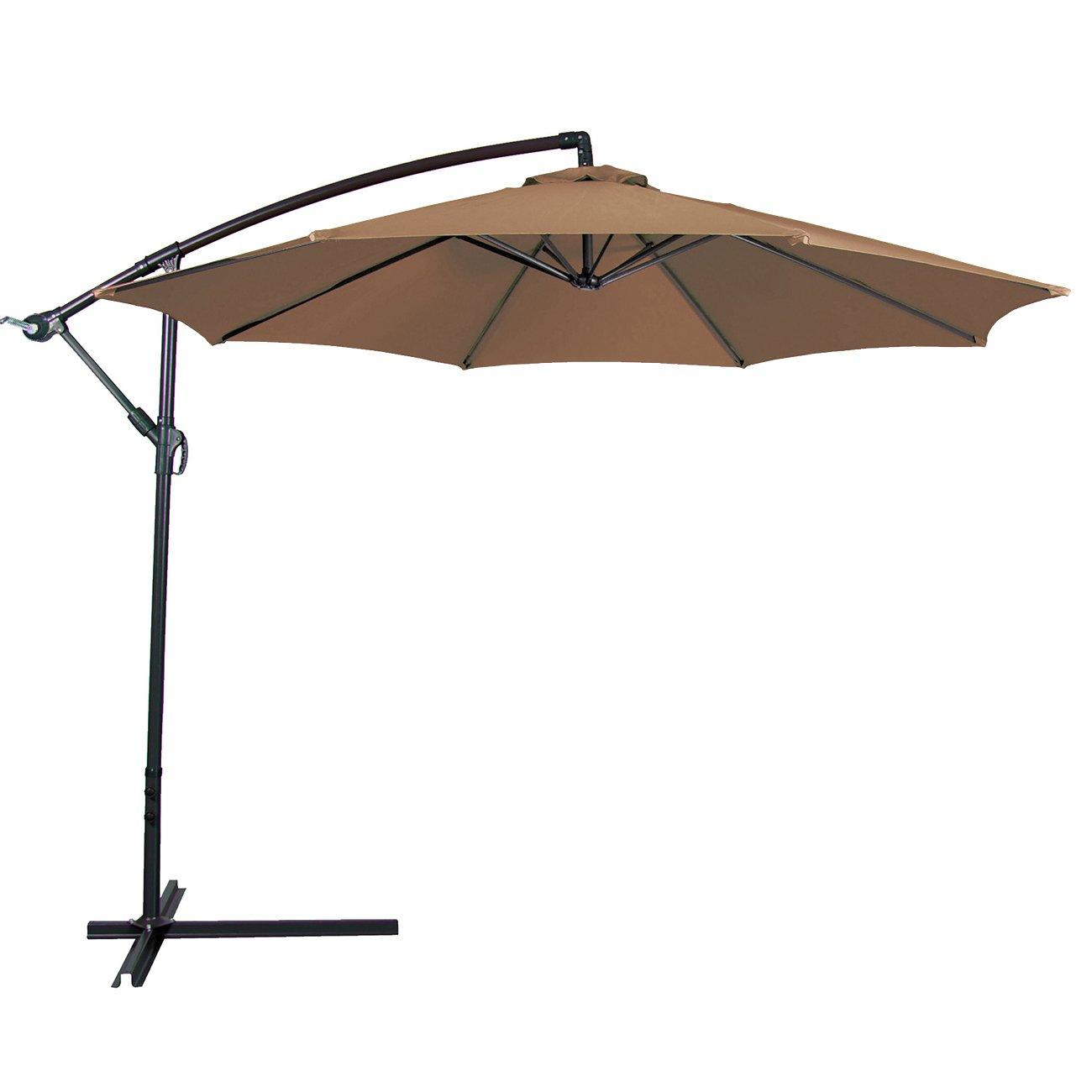 belleze 10u0027 cantilever umbrella u0026 reviews | wayfair NYRXOZG
