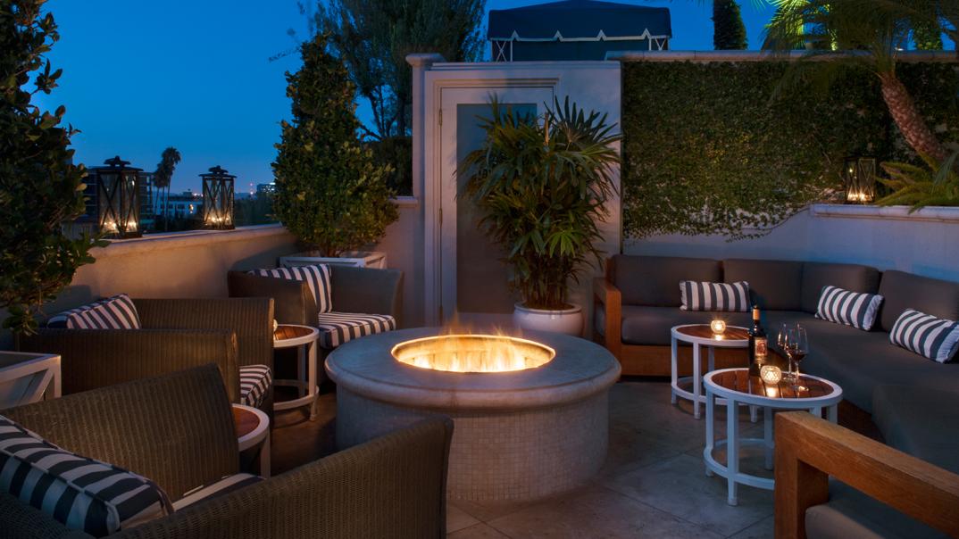 Beverly Hills Dreaming The Roof Garden Restaurant TDLBASF