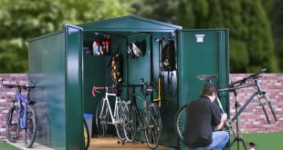 bike shed metal bike storage - secured by design - police approved specification ... MOWBZPO