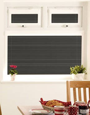 black perfect fit blinds RUHGAPK