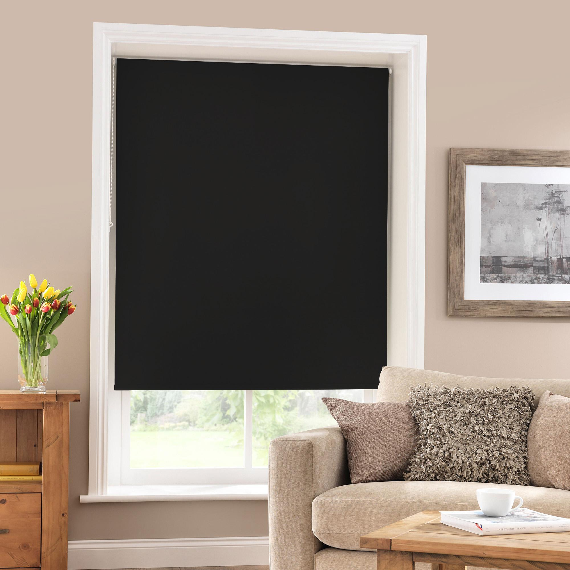 blackout blinds black blackout roller blind NUYWJQV