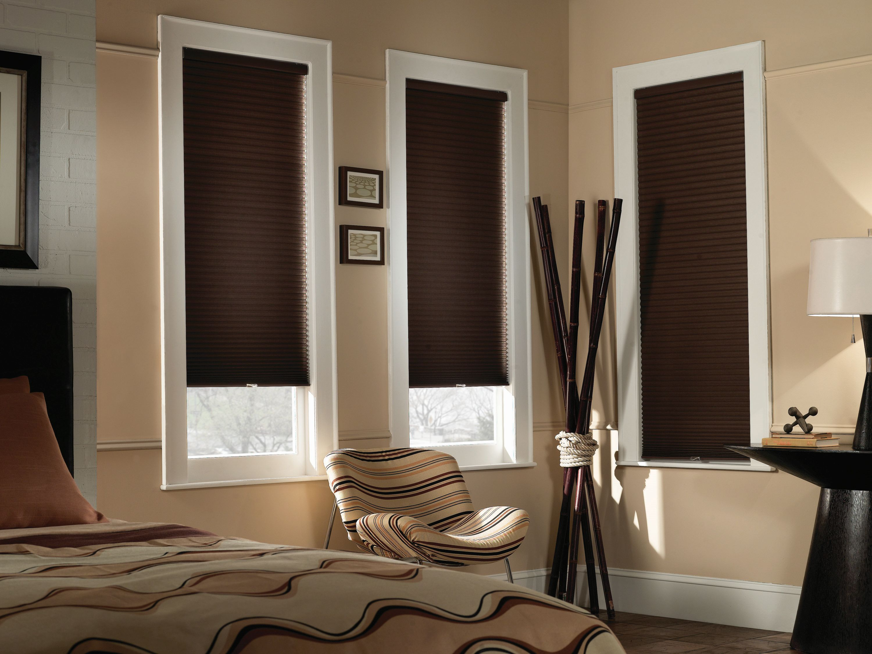 blackout blinds cordless cellular shade - blinds.com economy 1/2 XNOBAYV