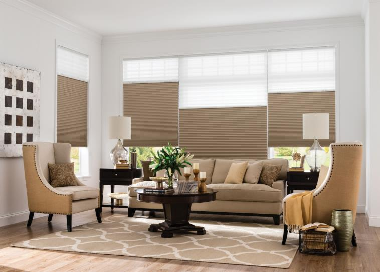 budget blinds brown cellular shades TVLZRBP
