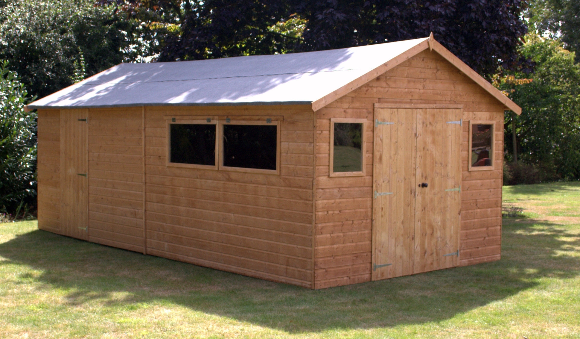 build wooden sheds for various purposes WZCKTRX