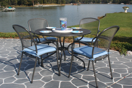 buy wrought iron patio furniture including tables, chairs u0026 more | kettler  usa DTYJSLI