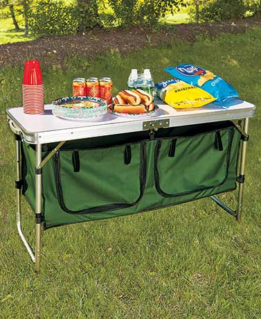 camping table portable camping kitchen table; portable camping kitchen table ... RBUTXLW