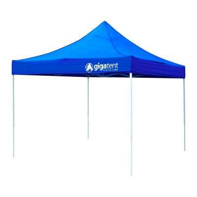 canopy tent giga classic blue 10 ft. x 10 ft. canopy HJWCCEF
