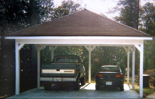 car ports wood carports MEOPHLW
