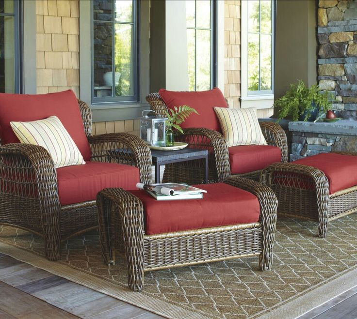 comfortable patio or front porch furniture GQDNWZF