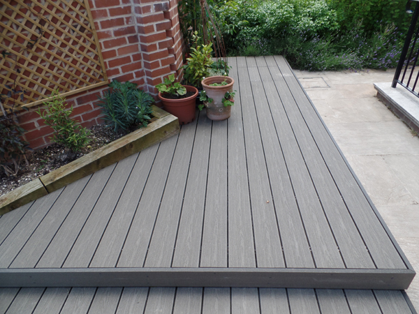 composite decking the deck can spread over an entire space. owners should keep a measurement  of IYIPUGA