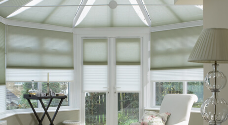 conservatory blinds duette day and night DOUNRCW