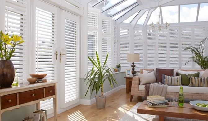 conservatory blinds provide you security