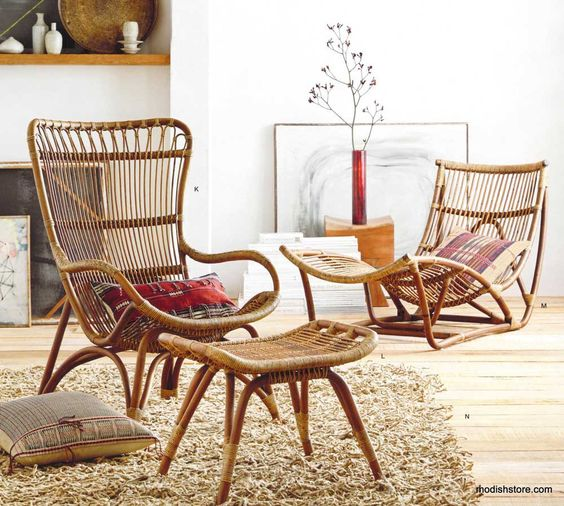 cool rattan furniture pieces for indoors and outdoors EPTWYBU