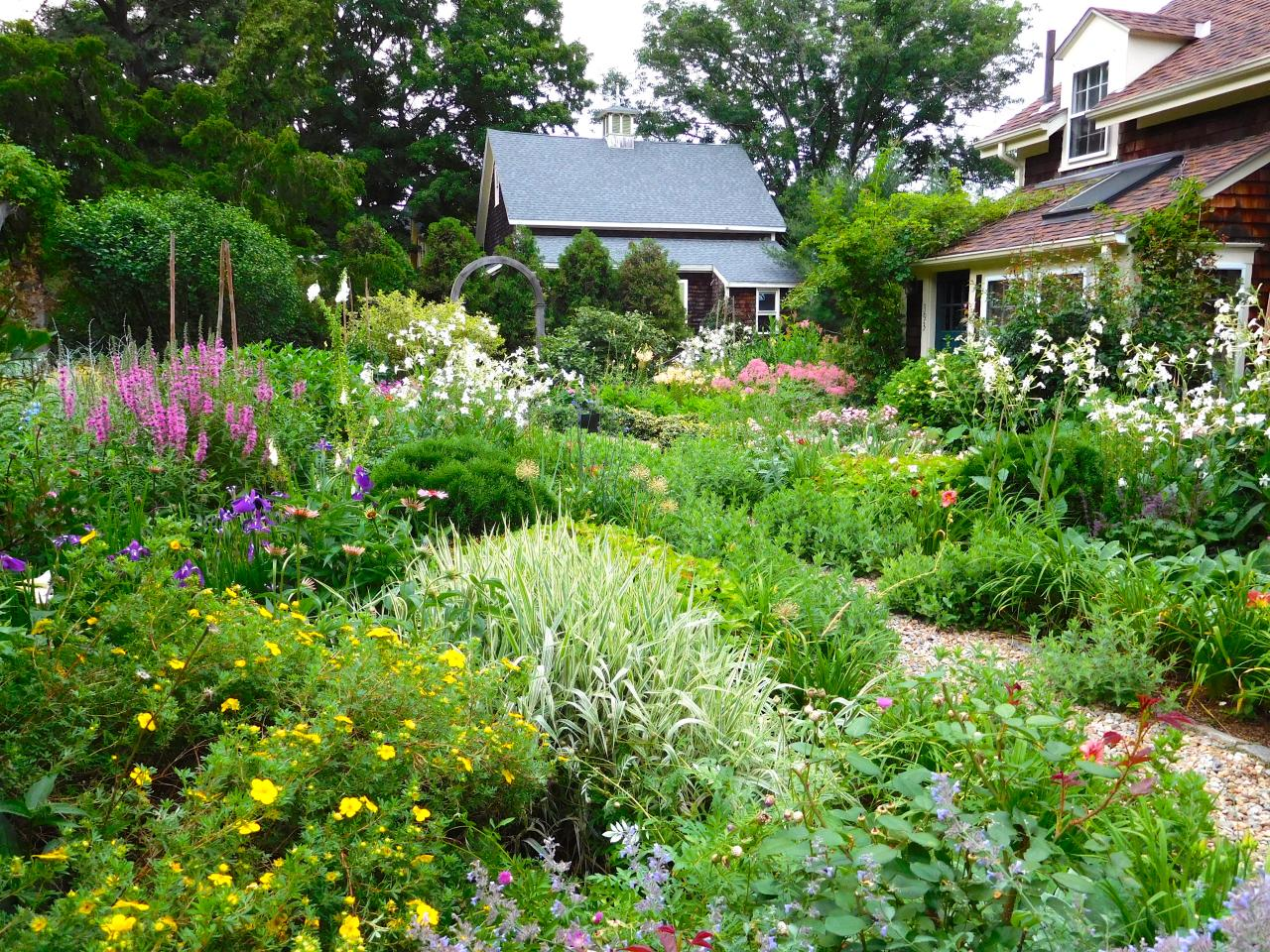 cottage garden design ideas QKCNOFL