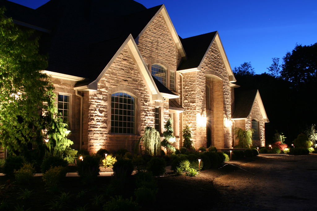dallas led outdoor lighting for landscaping QYRDHXN