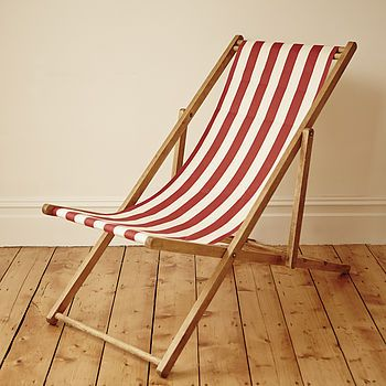 deck chairs stripy vintage deck chair MBZCGMS