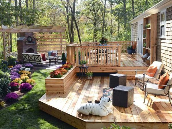 deck ideas 32 wonderful deck designs to make your home extremely awesome RTQTRSP