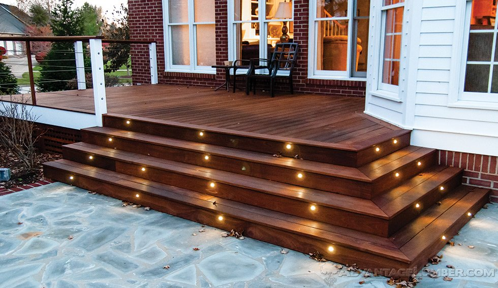 deck lighting JDFTHJH
