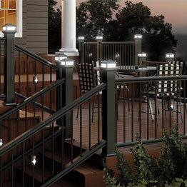 deck lighting post cap lighting BDAISHU