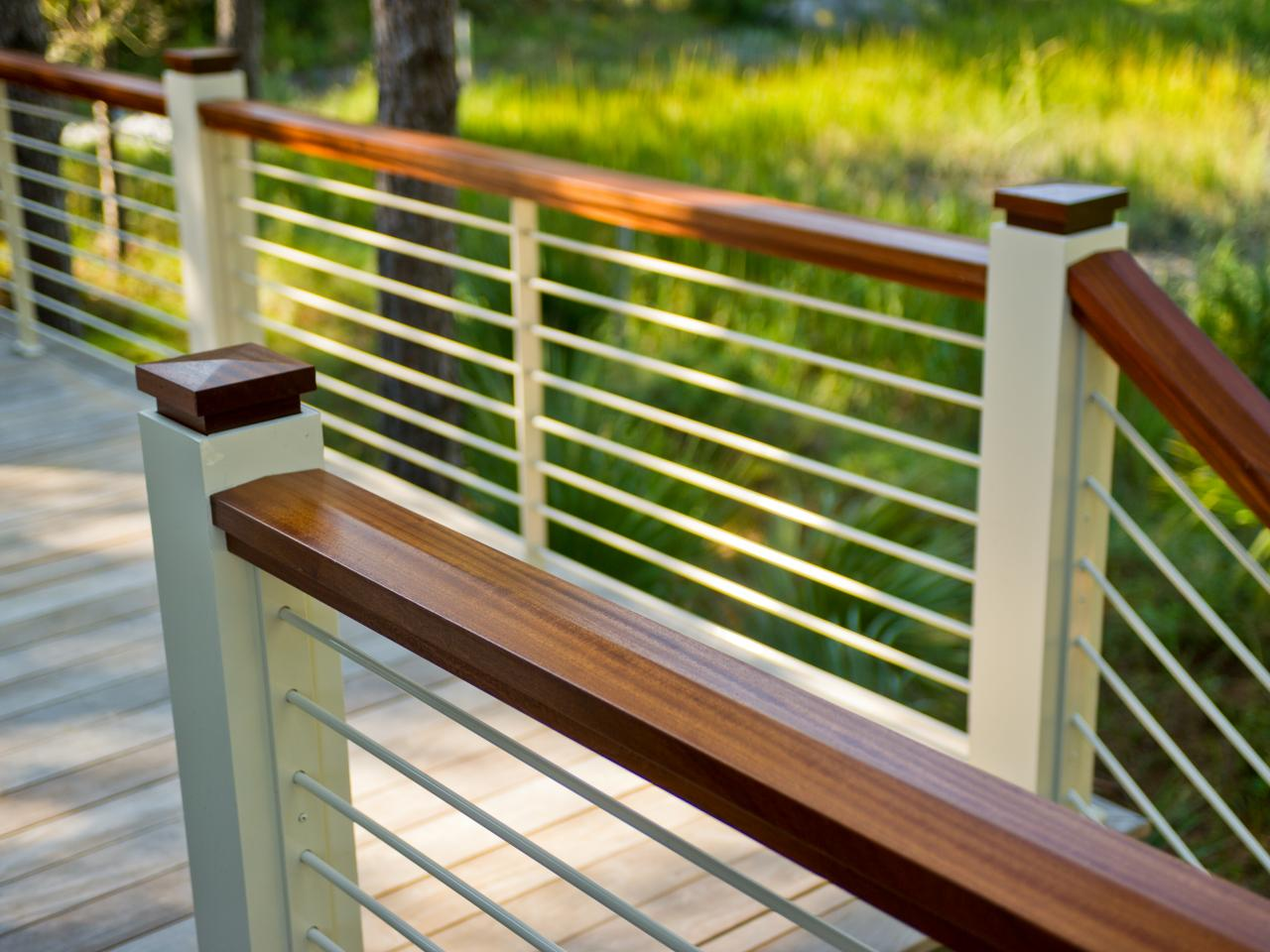 deck railing ideas deck railing design ideas VYIJXLF