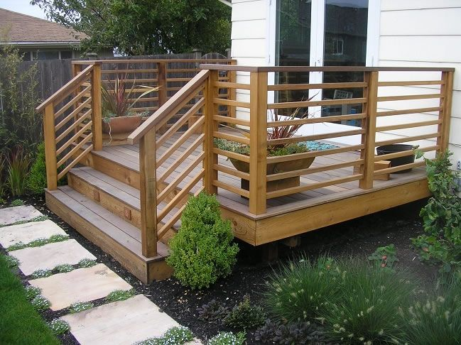 Deck railing ideas that may attract you